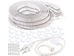 Bandes de culture à LED avec adaptateur secteur - 12 m