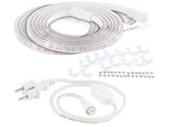 Deux bandes de culture à LED avec adaptateur secteur Lunartec.