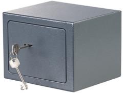 mini coffre fort 5l pour bijoux et liquide avec clés de securité et fixation au sol ou au mur