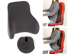 Coussin ergonomique dorsal en mousse à mémoire de forme