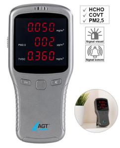 Détecteur de pollution HCHO / COVT / PM1/2,5/10 AGT