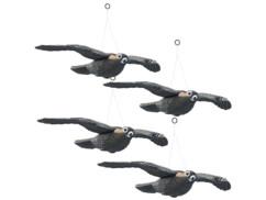4 faucons anti-oiseaux à suspendre