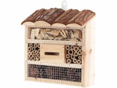 Hôtel à insectes pour jardin, cour, balcon ou terrasse - Petit