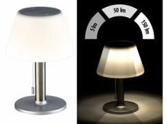 Lampe de table solaire à luminosité variable 150lm/ 5W/ Ø20cm