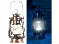 Lampe-tempête LED rechargeable à intensité variable 200lm/ 3W/ 3000K - Bronze