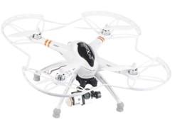 Pack drone ''QR-X350.PRO'' + Télécommande + support cam + caméra DV-1080.fpv