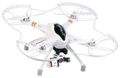 Pack drone ''QR-X350.PRO'' + Télécommande + support cam + caméra DV-720.fpv
