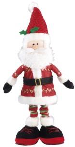 Père Noël chantant et sautillant