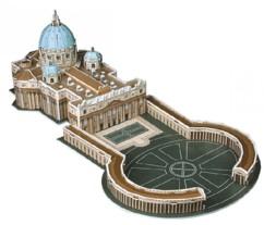Puzzle 3D Basilique St-Pierre de Rome