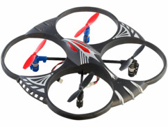 Quadricoptère 4 canaux ''GH-4L'' avec retournement à 360°