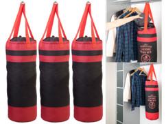 3 sacs à linge design sac de frappe avec cordon de serrage