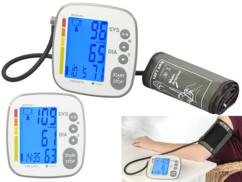 tensiometre numerique lcd newgen medicals ob300 avec alertes poul et mémoire des mesures