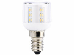 4 mini ampoules LED E14 360° - 3 W - 260 lm - Blanc chaud