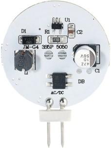 Ampoule LED SMD à culot G4 - Neutre - 3 W