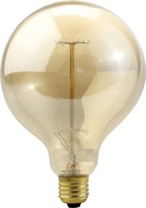 Ampoule rétro à incandescence E27 format XXL - forme Sphère