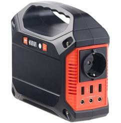 Batterie nomade 42 Ah & Convertisseur solaire avec prises 230 V / 12 V / USB