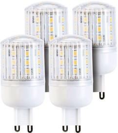 Lot de 4 ampoules compactes LED 3 W avec éclairage 360° - GU9 - Blanc