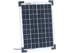 Panneau solaire à cellules monocristallines - 10 W