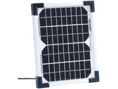 Panneau solaire à cellules monocristallines - 5 W