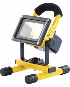 Projecteur à LED d'extérieur 10 W avec batterie