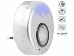 Anti-nuisibles à ultrasons 2 en 1 avec fonction veilleuse à LED