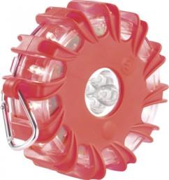 Avertisseur de danger magnétique à LED - Rouge