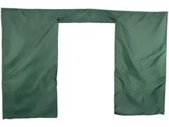 Bâche latérale avec porte pour pavillon de jardin Falon - Avec porte