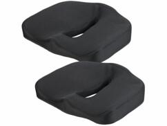 Coussin ergonomique à mémoire de forme pour assise - x2