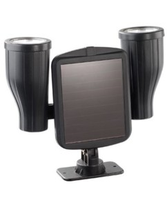 Double projecteur solaire à LED avec capteur PIR