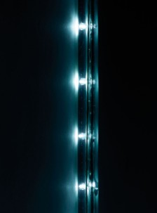 Guirlande à LED étanche IP44 (20 m) - Blanc