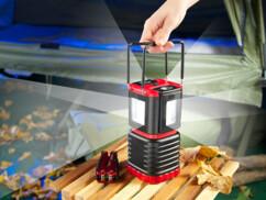 Lampe de camping 3D à poser ou à suspendre, avec 2 lampes de poche, 3 W