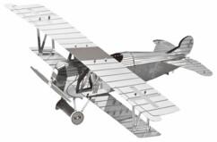 Maquette 3D en métal : Avion - 17 pièces