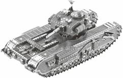 Maquette 3D en métal : Char d'assaut - 48 pièces