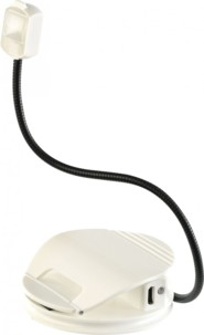 Mini lampe de lecture à clip