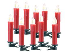 bougies supplementaires sans telecommandes avec pince a sapin