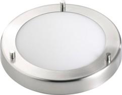 Plafonnier Ø 19 cm résistant aux projections d'eau pour ampoule G9