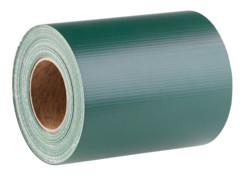 bande brise-vue pour cloture en bache indéchirable longueur 35m couleur vert
