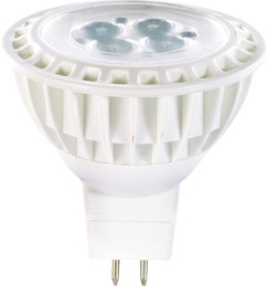 4 Spots à LED High-Power, GU5.3, 5 W - blanc