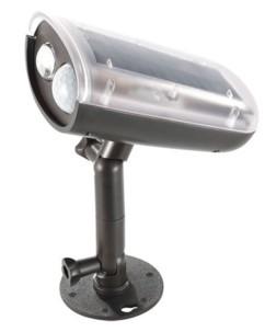 Spot solaire à LED avec détecteurs de mouvement et d'obscurité, 3W