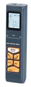 Télémètre laser 5 cm / 30 m à fonction bluetooth et écran LCD