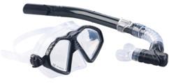 tube et masque de plongée pour adultes avec vitre en verre speeron