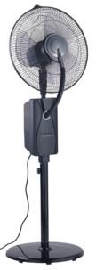 ventilateur sur pied avec brumisateur réservoir minuteur et telecommande pour interieur