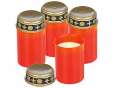 Pack de 4 bougies funéraires de la marque Pearl.
