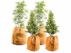 4 housses d'hivernage pour plantes au format normal et XL
