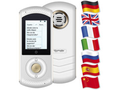 Appareil de traduction automatique en 75 langues TTL-75 Blanc