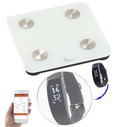 Balance impédancemètre connectée 7 en 1 - Avec montre FBT-120.HR