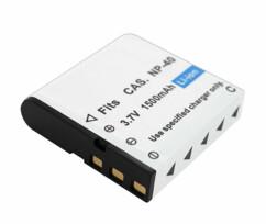Batterie de rechange 1500mAh pour caméscope 4K UHD DV-860.uhd