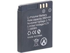 Batterie de rechange pour montre-téléphone PW-460 Simvalley Mobile.