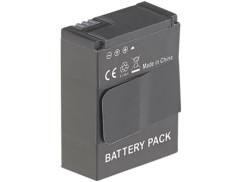 batterie supplémentaire ou de remplacement pour torche lec pour gopro somikon