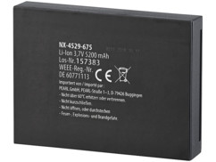 Batterie supplémentaire 5200 mAh pour visiophone connecté VTK-250
